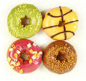 Isolated donuts — Stock Photo