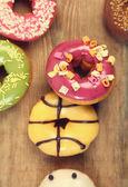 Glazed donuts — Stock Photo