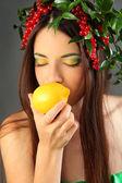 Yellow citrus — Stock Photo