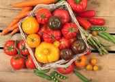 Summer food — Stock Photo