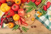 Fresh food — Stockfoto