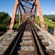 Old railway bridge — Foto Stock