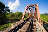 Vecchio ponte ferroviario — Foto Stock