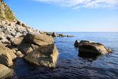 Eastern sea coast of Russia — Stock Photo