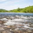 Summer landscape with the river. — Stock Photo