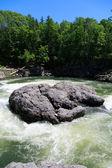 река с бурный поток — Стоковое фото