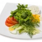 Assorted fresh vegetables — Stock Photo #34016959