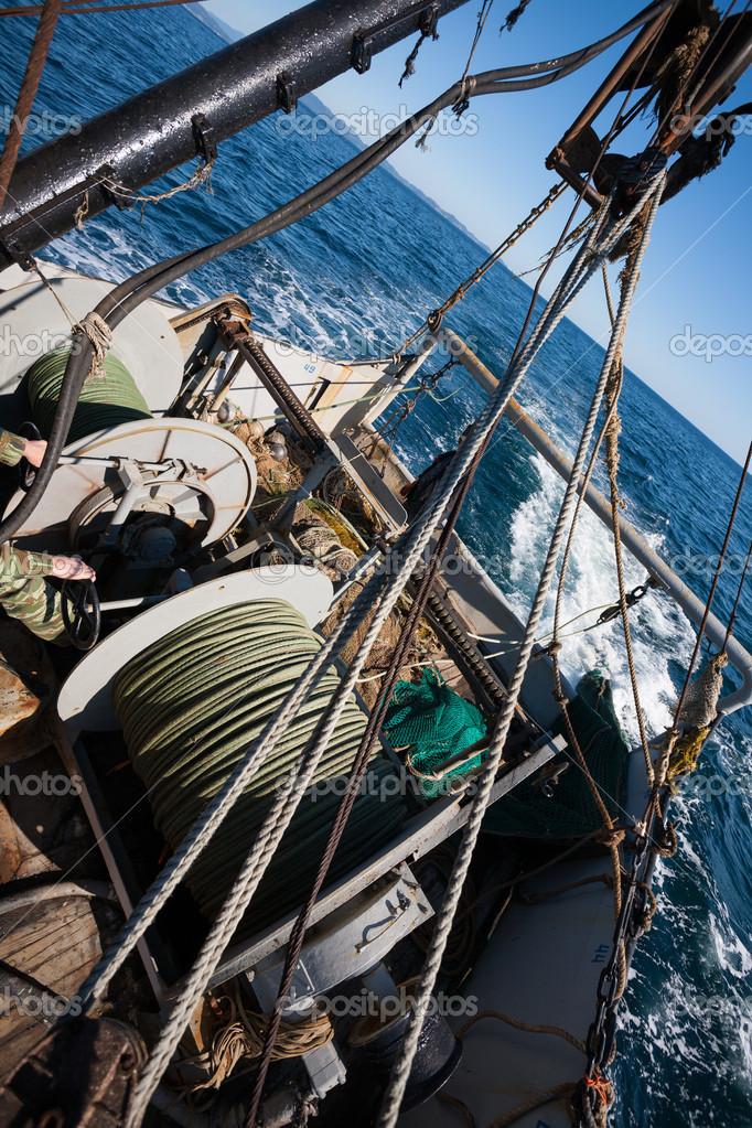 рыболовный трал для лодки