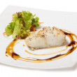 Halibut steamed — Stock Photo #34845029