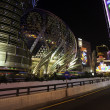 Casino Grand Lisboa evening in Macau — Stock Photo