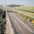 Track and spectator stands for Macau Grand Prix. — Stok Fotoğraf #38444487