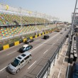 Track and spectator stands for Macau Grand Prix. — Stok Fotoğraf #38444513