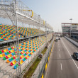 Track and spectator stands for Macau Grand Prix. — Stok Fotoğraf #38444653