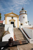 Guia Lighthouse, Fortress and Chapel in Macau — Stock Photo