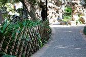 Footpath in the city park Macau — Stock Photo