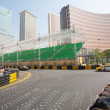 Safety barriers installed along for racing Macau Grand Prix — Stock Photo #38747193