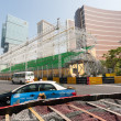Safety barriers installed along for racing Macau Grand Prix — Stock Photo #38747315