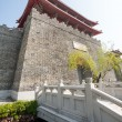 Reconstructed part of the old Chinese fortress — Stock Photo #38832617