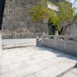 Reconstructed part of the old Chinese fortress — Stock Photo #38832927
