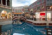 Grand unterhaltungskomplex im venetian macao. — Stockfoto