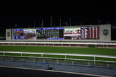 Diamond Vision Television screen на Sha Tin Racecourse — Stock Photo