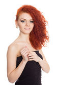Beautiful red haired girl  — Stock Photo