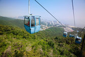 Cableway in the suburbs of Dalian — Stock Photo