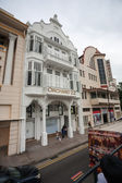 Orchard street in singapore — Stockfoto