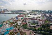 Isla Sentosa en Singapur — Foto de Stock