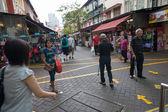 Chinatown district of Singapore  — Stock Photo