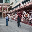 Decoration quay before the Christmas in Hong Kong — Stock Photo #45732089