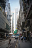 Central district in Hong Kong — Stock Photo