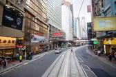 Сentral business district Hong Kong — ストック写真
