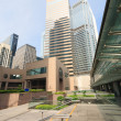 Постер, плакат: District Exchange Square in Hong Kong