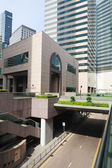 District Exchange Square in Hong Kong — Stock Photo