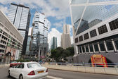 Central business district Hong Kong — Stock Photo