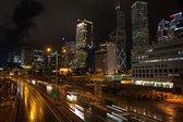 Panorama of central district of Hong Kong — Stock Photo