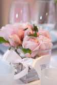 Tender pink roses — Stock Photo