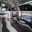 Stock Photo: Luxurious limousine interior