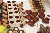巧克力酥的多样性 — 图库照片