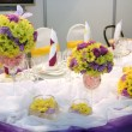 Wedding dinner — Stock Photo #7247566