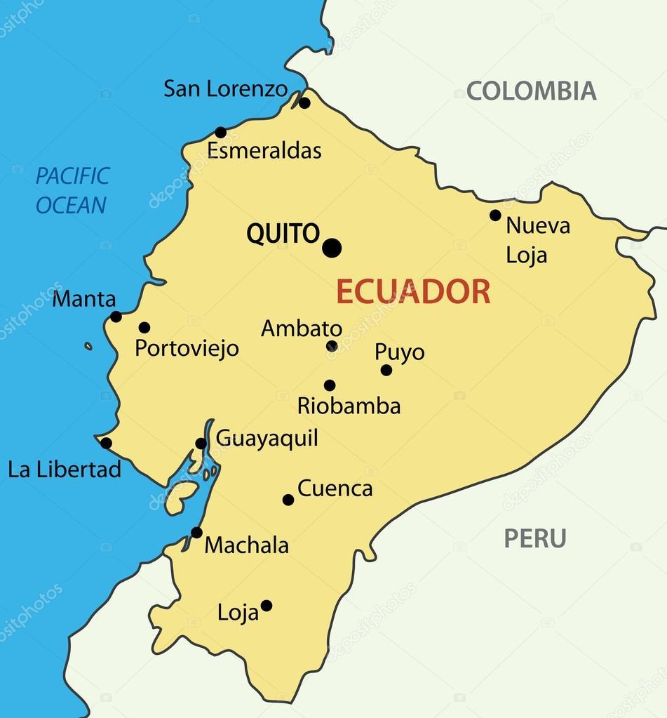 Ecuador Vector Republic of Ecuador Vector