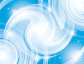 Abstraktní lesklý světle modré vektorové pozadí - eps 10 — ストックベクタ