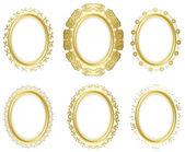 Decorative frames - vector set — Stock Vector
