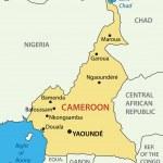 Постер, плакат: Republic of Cameroon vector map