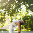 Women and Yoga — Stock Photo