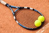网球拍 — 图库照片