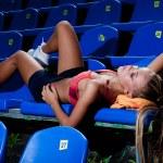 Sporty woman — Stock Photo #14098380