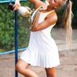 Sporty woman - Stockfoto