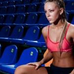 Sporty woman — Stock Photo #17189681